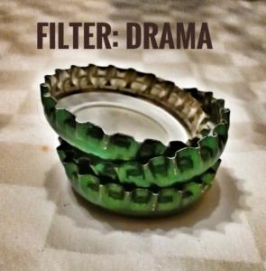 "Mit Snapseed bearbeitet: Filter ""Drama"""